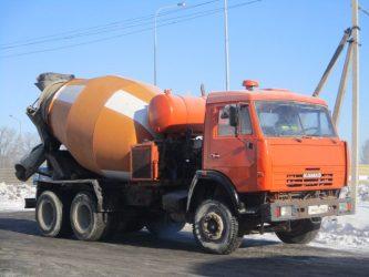 Объем бетономешалки Камаз