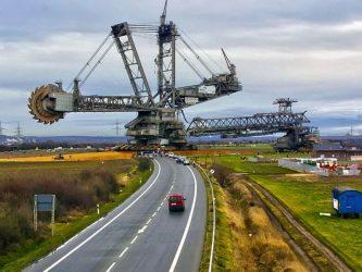 Самый большой шагающий экскаватор в мире