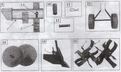 Культиватор тарпан инструкция по эксплуатации