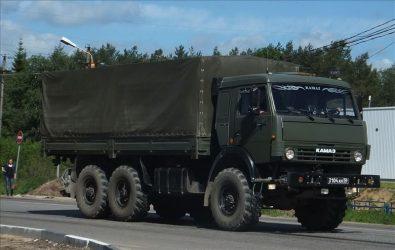 ТТХ Камаз 53501 военный