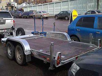 Прицепы автовозы эвакуаторы с лебедкой