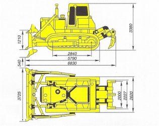 Бульдозер shantui sd32 технические характеристики