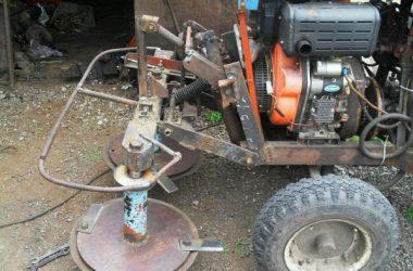 Самодельная роторная косилка для минитрактора