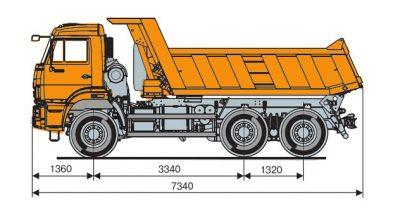 Камаз 65111 технические характеристики