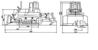 Бульдозер т 25 технические характеристики