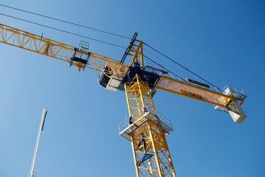 Производство башенных кранов в России