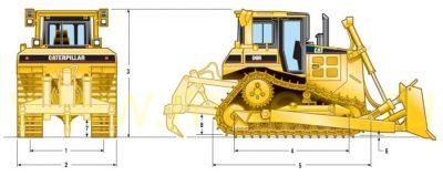 Бульдозер caterpillar d6r технические характеристики