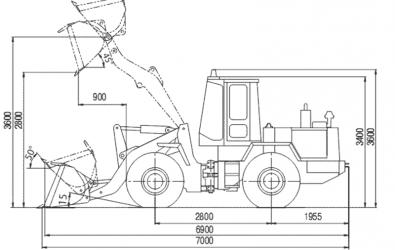 Фронтальный погрузчик то 18 технические характеристики