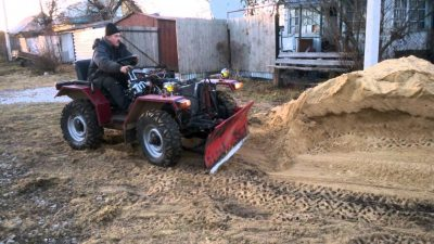 Трактор из Нивы 4х4 самоделка