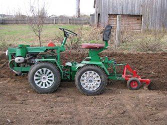 Как сделать мини трактор для домашнего хозяйства?