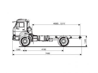 Камаз 43502 технические характеристики