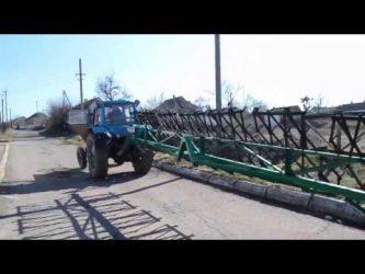Самодельные бороны для трактора МТЗ 80