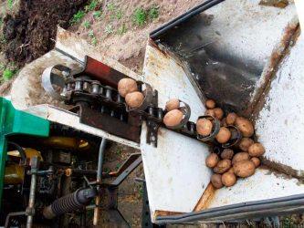 Самодельная картофелесажалка для минитрактора
